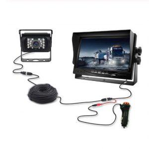 Truck camera reversing system monitor