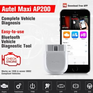 AUTEL Bluetooth Diagnostic tool (4)