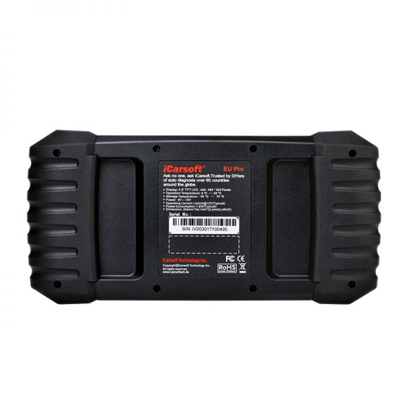 iCARSOFT EU PRO Car Diagnostic Tool Scanner