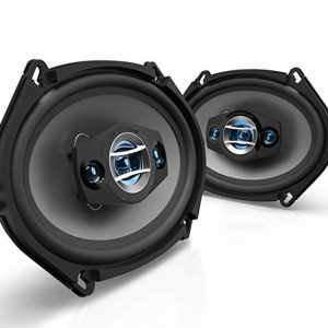 Scosche car speakers 250 watts 5'' x 7'' (1)