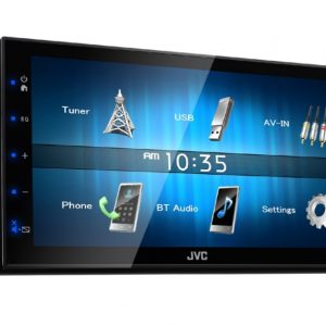 jvc car stereo entertainment KW-M24BT(4)