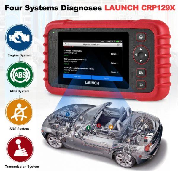 Launch CRP129X Car Diagnostic Scanner (2)