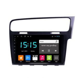 Vw golf mk7 car stereo 2012