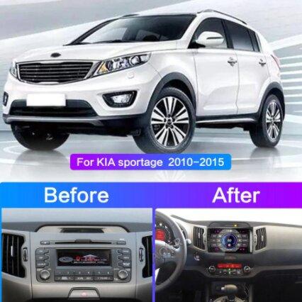 KIA SPORTAGE CAR STEREO (1)