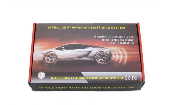 BLACK 4x rear parking sensors (1)