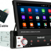 ANDROID Flip out 7'' TOUCHSCREEN CAR STEREO