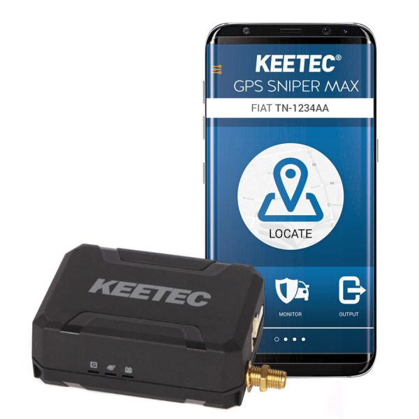 KEETEC GPS SNIPER MAX GPS TRACKER/GSM PAGER