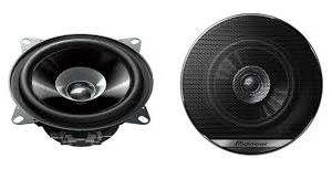 10cm 190w Dual Cone Speakers with Grills - Pioneer TS-G1010F