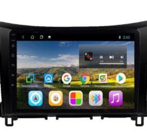 Car Android Stereo Nissan Navara NP300 (1)