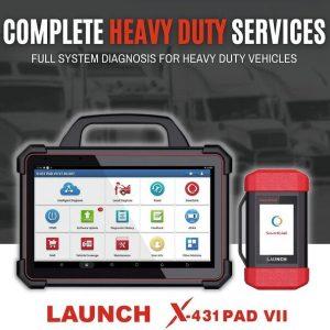 LAUNCH X431 PADVII Diagnostic Tool OBD2 Scanner ECU Online Programming Car Diagnosis Automotive