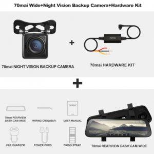 Xiaomi Dash Camera with Reversing camera (5)