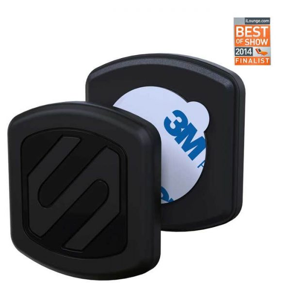 SCOSCHE MAGFM MagicMount Universal Magnetic Flush Mount Holder for Mobile Devices, Black